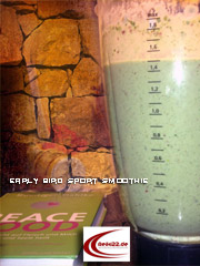 Der Early Bird Power Sport Smoothie
